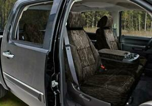 Coverking Mossy Oak Bottomland Camo Front & Rear Seat Covers for Nissan Titan