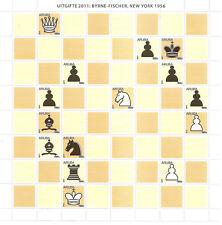 Aruba 2011 Schaken chess echec schach S/S MNH