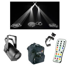 Chauvet DJ Lighting Gobo Zoom USB Compact White LED Light w/ Remote Bag Clamp