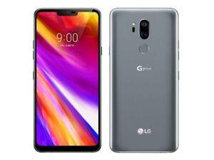 LG G7 ThinQ G710ULM - 64GB - Platinum Gray (Sprint) B Unlocked