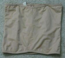 Flexees Pink Sleeveless XL Extra Large Shirt Diamond Front Design Slip Tub Top