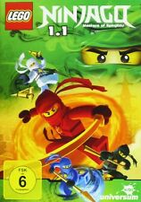LEGO NINJAGO STAFFEL 1.1  FOLGE 1-6  DVD NEU