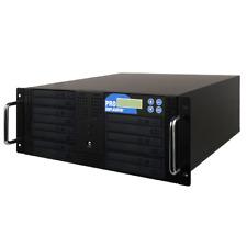 7 Burner Blu-ray DVD Rackmount Duplicator Copier Recording Disk Copy+1TB+USB