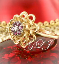 Jabel Ring,Jewelry,Gold,Diamond,Ruby,Flower Ring,Rubies,Fine Jewelry,Ladies Ring
