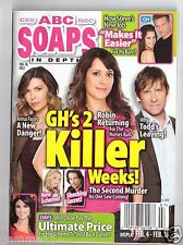 ABC SOAPS IN DEPTH GENERAL HOSPITAL GH 2 KILLER WEEKS FEBRUARY 2012