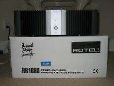 Rotel RB1080 amp 200watts per channel 8ohms Silver face, Read Reviews