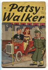 Patsy Walker #2 1945-RARE-Timley Golden Age- Good Girl Art