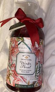 ❤️ Michel Design Works Foaming Liquid Hand Soap Winter Floral
