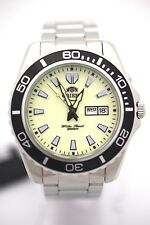 ORIENT MEN FEM75005R9 Diver Automatic 200m Luminous Dial Stainless Steel