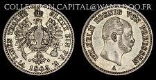 Allemagne / Prusse / 1/6 Thaler 1863 / Wilhelm Koenig / Argent
