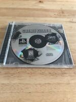 Crime Killer (Sony PlayStation 1, 1998) No Booklet