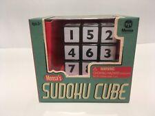 Wow Stuff Mensa 874041-24P Durable Sudoku Puzzle Plastic Cube - Black/White NEW