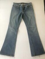 JUICY COUTURE BOOT CUT DENIM JEANS  Size 27 Made in USA Medium Wash