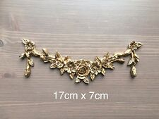 Drawer Table Rose Swags Resin decoration Furniture Moulding Carvings Onlays Gold
