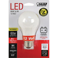 FEIT Electric  12-Volt  10.5 watts A19  LED Bulb  800 lumens Warm White  Special
