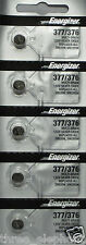 5 NEW ENERGIZER SR626SW 377/376 Silver Oxide 1.55v  Aussie Stock made in U.S.A.