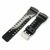 Genuine Casio Gloss Black Band Strap G-Shock G-8900A-1 GA-110B-1A2 GA-110B-1A3
