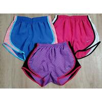 Nike Womens Shorts Size XS Running Lot of 3 Pink Blue Purple