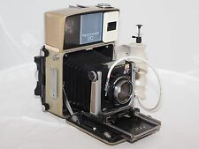 Linhof  Technika-70 6x9cm field / press camera kit. Xenotar 80mm f2.8 lens Grip