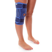 66fit™ Elite Stabilized Hinged Open Knee Support - Sports Injury Pain Relief