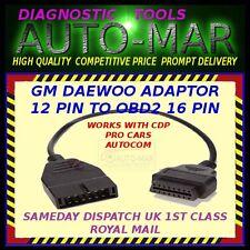 GM DAEWOO DIAGNOSTIC LEAD OBD1 12 PIN TO OBD2