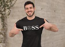 Camiseta ventiladores de Mercedes AMG Boss para Hombre Mujer Unisex Regalo De Cumpleaños Top Papá Fresco Tendencia