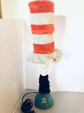 Vintage Dr. Suess Cat In the Hat Lamp Tested Works Needs Tlc See Remarks