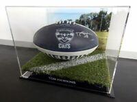 ✺Signed✺ TOM HAWKINS Geelong Cats Football PROOF COA 2020 Jumper AFL