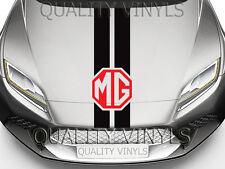 MG Rover Bonnet Racing Stripes Graphique Décalque Autocollants ZR MG3 GS ZS ZT 200 BS216