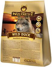 Wolfsblut Wild Duck Senior 15 kg Hundefutter mit Ente