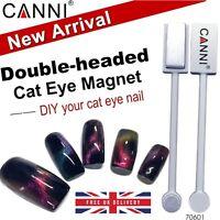 3D 5D 9D Cat Eye Nail MAGNET Magnetic Plate CANNI UV LED Powder Gel Polish UK