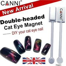 3D 5D 9D Cat Eye Nail MAGNET Magnetic Plate CANNI UV LED Powder Gel Polish UK