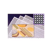 Martellato Decorating Stencil Grill - Circle & X Design