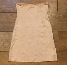 ee763649be SPANX SLIMPLICITY HIGH WAIST HALF SLIP SKIRT NUDE sz S SMALL NWOT