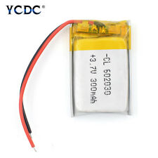 602030 3.7V 300mAh Li-ion Battery Replacement For GPS MP3 MP4 Voice Recorder 45