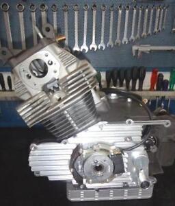 Honda CB160 175 Sloper Cappellini engine cover WITH crank ignition system #184