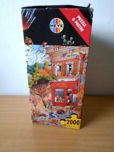 HEYE LOUP - APOCALYPSE - 2000 PIECE JIGSAW PUZZLE+ POSTER.