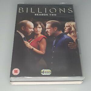 BILLIONS SERIES 2 DVD  Season Two CBS R2 4 Disc Set New - Sealed