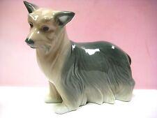 YORKSHIRE TERRIER DOG FIGURINE BY LLADRO PORCELAIN #8318