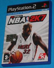 NBA 2K7 - Sony Playstation 2 PS2 - PAL