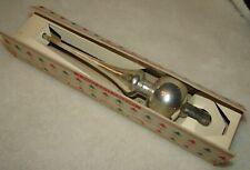 "Vintage Shiny Brite Christmas Mercury Glass Tree Topper Silver 10 1/2"" tall"