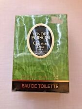 Tendre Poison Dior EDT 100 ml Splash No Spray NEU 💚 Vintage Damen Duft