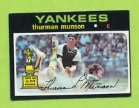 1971 Topps - Thurman Munson (#5)  New York Yankees