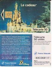 TELECARTE PHONE CARD PARC EURO DISNEYLAND LE CADEAU 1993 PORT A PRIX COUTANT