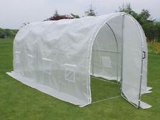 "Serre tunnel de jardin avec porte ""Mimosa"" - 220g/m2 - 9m² - 4.5 x 2 x 2 m"