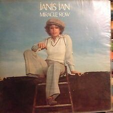 JANIS IAN • Miracle Row • Vinile LP • CBS 1977 Ed. ITALIANA
