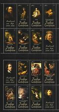 CENTRAL AFRICAN REPUBLIC 2011 SHEET SET MiNr: 3333 - 3344 ** PAINTING REMBRANDT