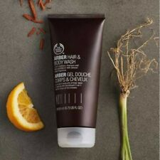 Body Shop Mens Arber Hair & Body Wash 1x200ml NEW