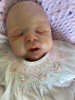 Reborn Baby Preemie Cute Reborn Doll Leilonni Louise by Jamie Lynn Powers COA