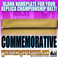 Blank Nameplate for WWE Commemorative Size Replica Championship Belts